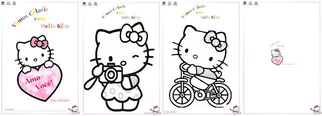 Caderno Colorir Hello Kitty