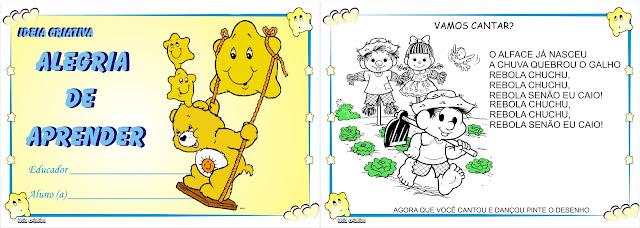 Caderno de Atividades Maternalzinho Diversas