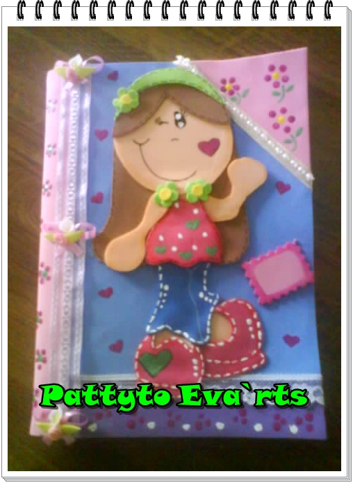 Pattyto Eva`rts: Cuaderno Decorado