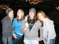 Rachel, Sara, Claire and Hayley