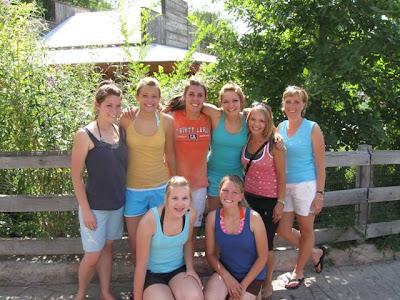 Girls at Lagoon