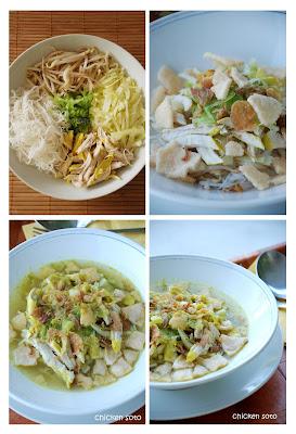 la maman de naiyaSoto Ayam (Indonesian Chicken Soup)