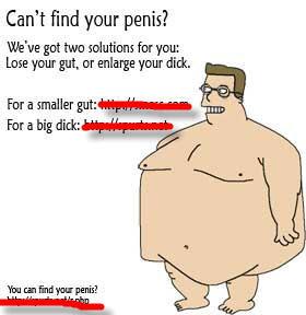 find penis