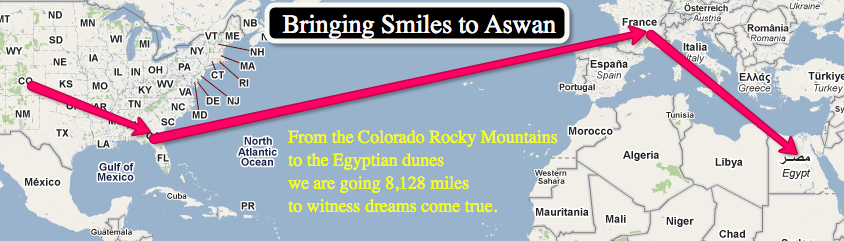 Bringing Smiles to Aswan