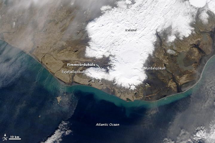 2010 iceland volcano eruption. the 2010 Iceland Volcano