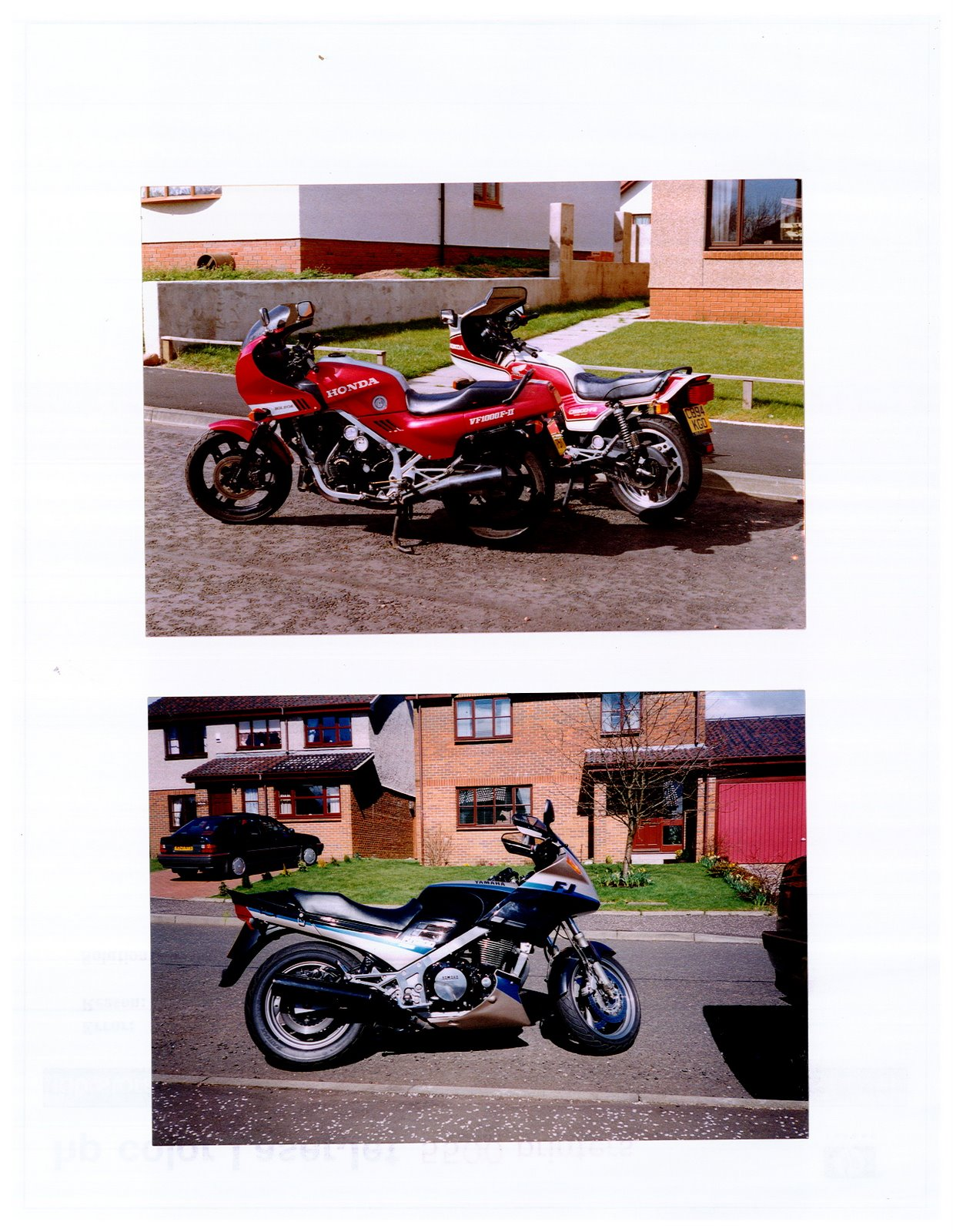 VF1000 Bol D'Or and FJ1200 A