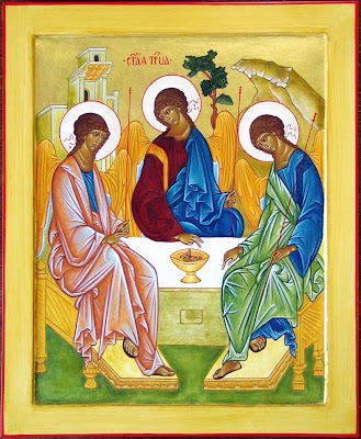 Rublev's icon, The Trinity dans immagini sacre Rublev%27s+Icon+on+Trinity