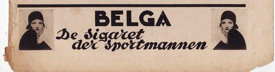 belga, de sigaret der sportmannen!