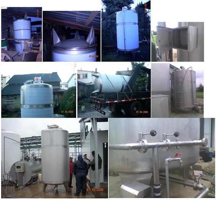 Lurinox acero inoxidable osorno for Fabricacion de estanques