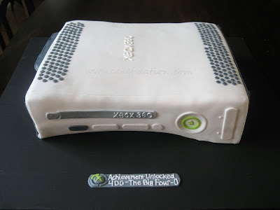 xbox 360 cake