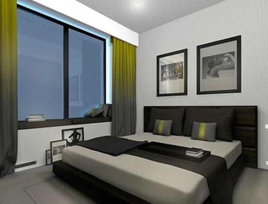 Modern apartment interior design home house apartment for 2 bedroom apartment exterior design