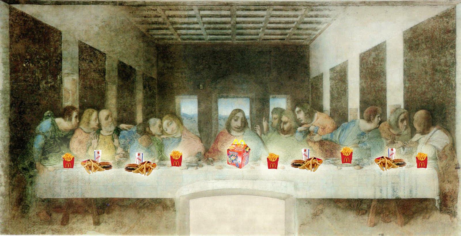 Leonardo Da Vinci The Last Supper Secrets Revealed - Viewing Gallery Da Vinci Paintings Secrets