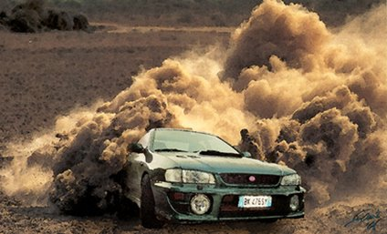 GreenBeast in the Dust