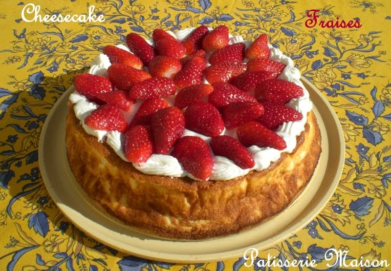 Cheese Cake Fraises Thermomix