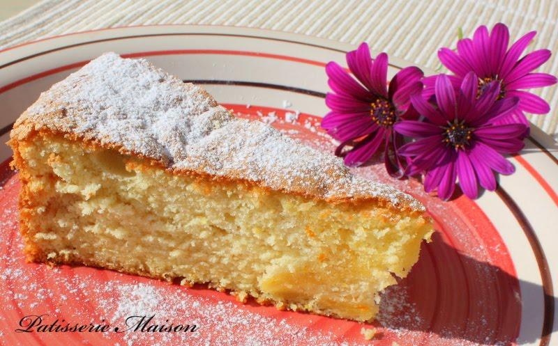Cake Moelleux Orange Et Chocolat Christophe Felder