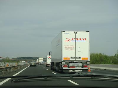 camions autoroute