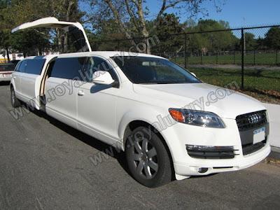 Audi Q7 Limousine. Audi Q7 Stretch Limousine,