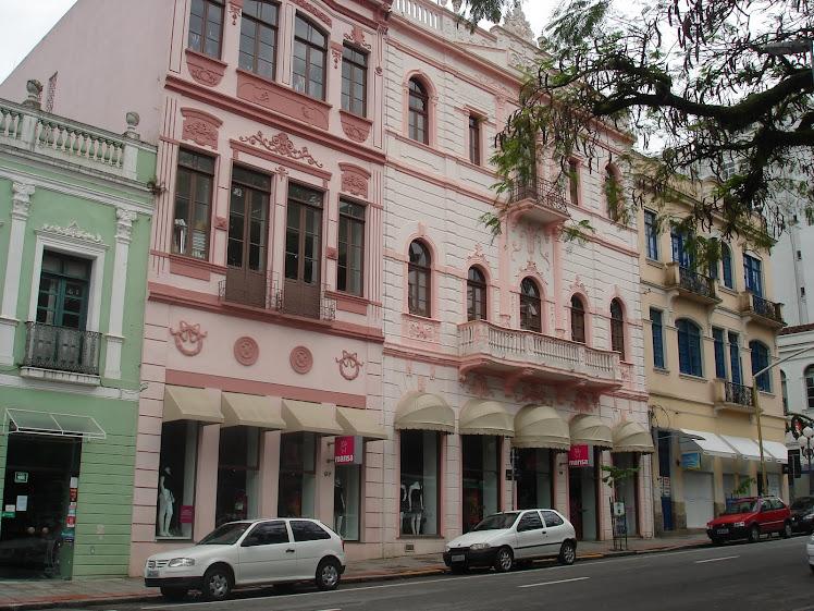 Casarões do século XIX - Praça XV - Florianópolis
