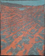 Aurel Stein at Flaming Mountains 42°55' N 89° 33 E