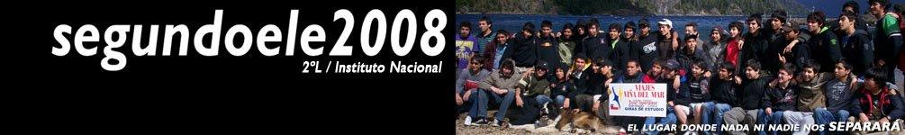 Segundo L 2008 - Instituto Nacional