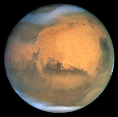 Mars imaged by Hubble