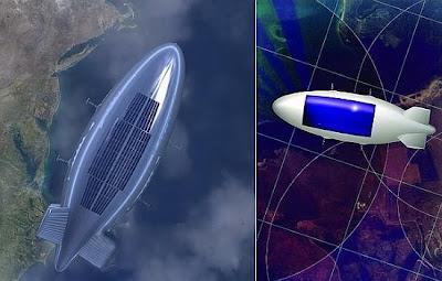 Dirigible solar geostacionario de gran altitud