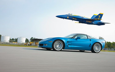 Corvette ZR1 vs F/A-18 Hornet