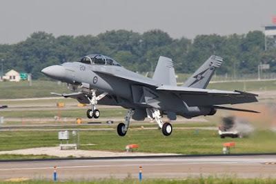 F/A-18F Super Hornet perteneciente a la RAAF