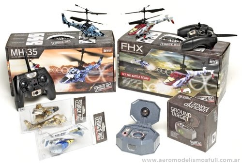 Helicópteros de combate FORCE RC