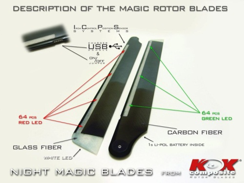 Night Magic Rotor Blades