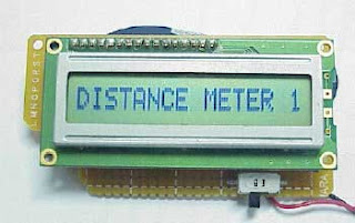 Electronic Distance Meter based on Microcontroller 68HC908QY4