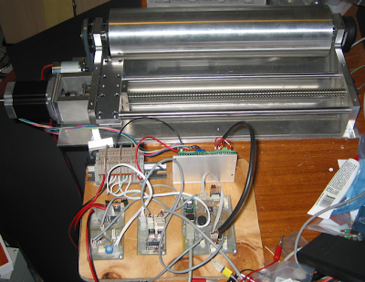 Microcontroller Project - Photoplotter