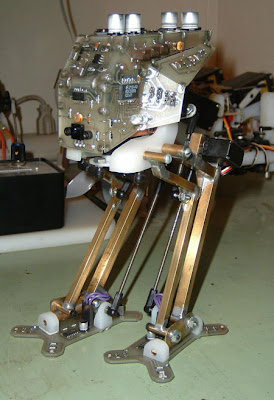 Electronic Project - PIC16F819 Based Walking Robotic