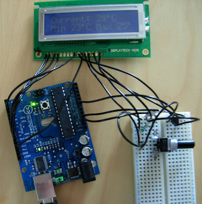 Arduino Project Digital Thermometer