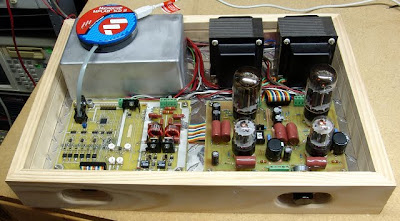 dsPIC MiniTron Tube Amplifier