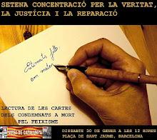 SETENA CONCENTRACIÓ VERITAT, JUSTÍCIA I REPARACIÓ. 30 GENER 2010