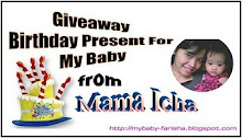 Giveaway Birthday Present For My Baby From Mama Icha..