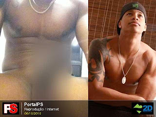 Léo Santana do Parangolé pelado na internet