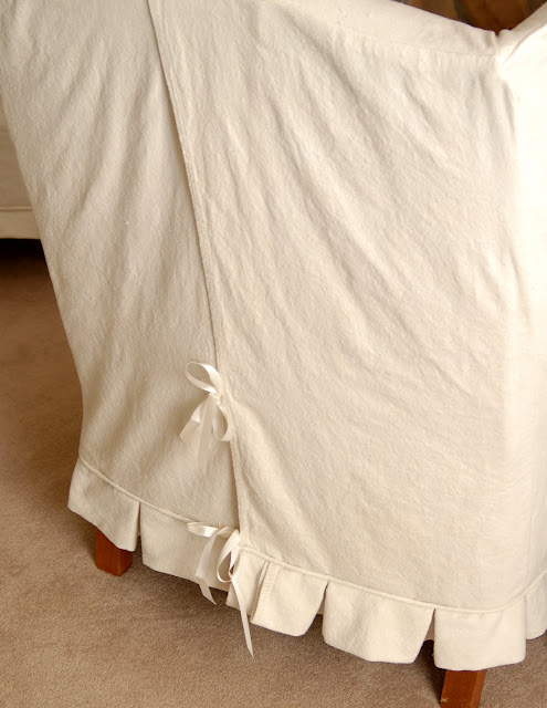 tips on sewing with drop cloths | drop cloth curtains | drop cloth slipcovers | miss mustard seed