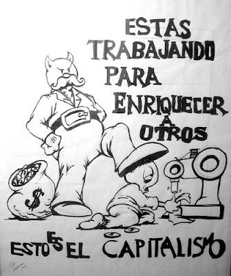 El poder de los opresores y el perecer de los necesitados Capitalismo
