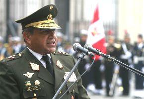 Jefe del Comado Conjunto de las Fuerzas Armadas, Francisco Contreras. Foto: ANDINA/archivo