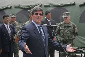 El ministro de Defensa, Rafael Rey. Foto: ANDINA/Rubén Grandez/Archivo