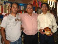 Carlos Santana Aguilar, Raúl Ramirez Tarazona y Edgar Quispe Pastrana. Foto: Raúl Masgo.