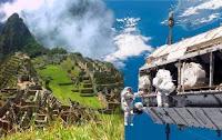 Machu Picchu se enlazó por radio con la Estación Espacial Internacional