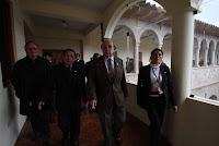 El ministro de Cultura, Juan Ossio, inspecciona la casa Concha, que albergará las piezas de Machu Picchu. Foto: ANDINA/Percy Hurtado.