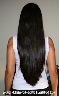 corina de oliveira hair brunette morena long comprido cabelo o meu reino da noite
