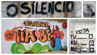 graffiti graffitis almada portugal art arte urban urbana urbano o silêncio the silence tia bé be votar boletim de voto walls paredes
