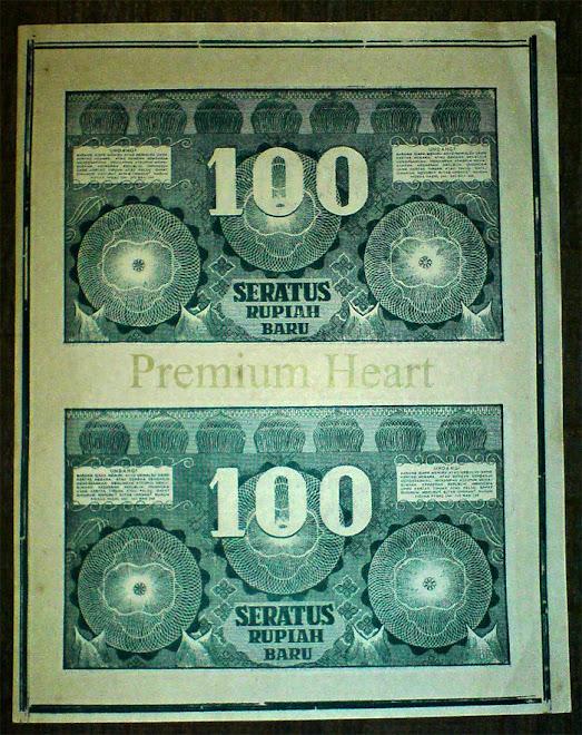Rp 100 new ori uncut