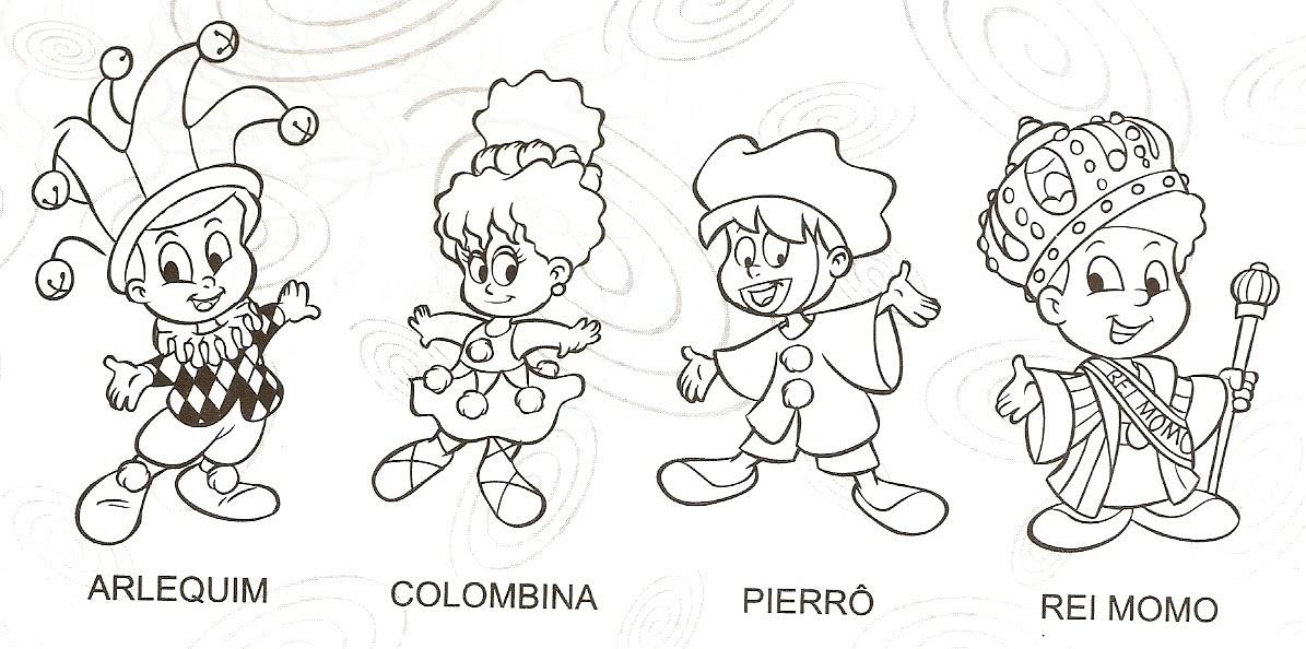 desenho de colombina para colorir auto electrical wiring diagramamor pela educa u00c7 u00c3o atividades sobre carnaval