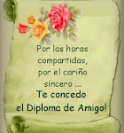 Diploma de amistad